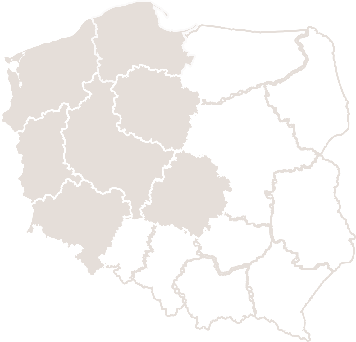 Dział handlowy - regiony: pomorskie, zachodniopomorskie, kujawsko-pomorskie, wielkopolskie, łódzkie, lubuskie, dolnośląskie