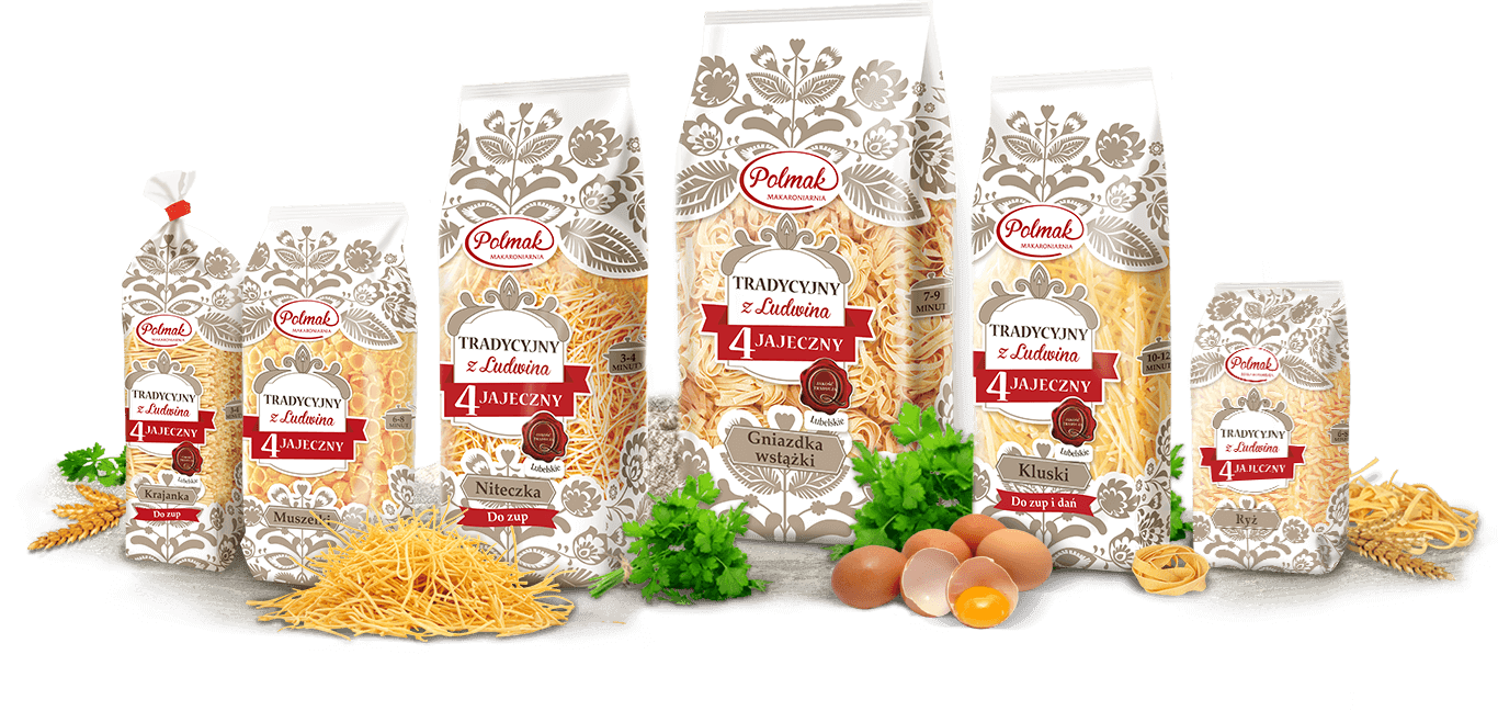 Linia makaronów TRADITIONAL PRODUCT FROM LUDWIN